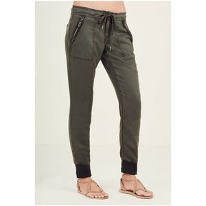 True Religion Women's Boyfriend Military Zip Pants